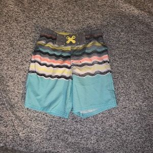 Boys xs 4/5 swim trunks simple cat and jack